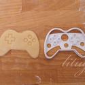 Game controller sütemény kiszúró forma, Konyhafelszerelés, Baba-mama-gyerek, Fotó, grafika, rajz, illusztráció, Mindenmás, Game controller-t, játék konzolt formázó sütemény kiszúró / szaggató forma.   Kb. 6,5 cm magas x 9 ..., Meska
