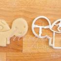 Állatos sütemény kiszúró forma - Teknős, Konyhafelszerelés, Baba-mama-gyerek, Fotó, grafika, rajz, illusztráció, Mindenmás, Állatkás sorozatunk következő tagja: teknőst formázó sütemény kiszúrót / szaggatót készítettünk, ar..., Meska