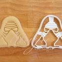 Star Wars - Kylo Ren alakú sütemény kiszúró forma, Konyhafelszerelés, Férfiaknak, Konyhafőnök kellékei, Fotó, grafika, rajz, illusztráció, Mindenmás, Kylo Ren-t  formázó sütemény kiszúrót is el kellett készítenünk :)    Kb. 8cm magas és széles alján..., Meska