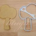 Fa sütemény kiszúró forma 1 - alap, Konyhafelszerelés, Baba-mama-gyerek, Fotó, grafika, rajz, illusztráció, Mindenmás, Fát formázó sütemény kiszúró / szaggató forma   Gyermek szülinapi zsúrokra is ideális, vagy csak úg..., Meska