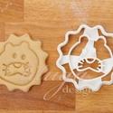 Oroszlán fej - Álatfej sütemény kiszúró, kekszforma, Baba-mama-gyerek, Konyhafelszerelés, Fotó, grafika, rajz, illusztráció, Mindenmás, Oroszlánfejet formázó linzer, keksz, sütemény szaggató / kiszúró forma.   Gyerek szülinapi zsúrra i..., Meska
