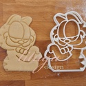 GARFIELD sütemény kiszúró keksz forma, mézeskalács, linzer, Konyhafelszerelés, Baba-mama-gyerek, Fotó, grafika, rajz, illusztráció, Mindenmás, A mókás, lusta macska is megihletett minket: Garfield-ot süti formába öntöttük :)   A Garfield alak..., Meska