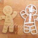 Shrek Mézi mézeskalács sütemény linzer keksz kiszúró forma - mézeskalács forma, Konyhafelszerelés, Dekoráció, Karácsonyi, adventi apróságok, Ünnepi dekoráció, Fotó, grafika, rajz, illusztráció, Mindenmás, Mézi a Shrek c. meséből :)   Kb. 8 cm magas    A siker érdekében fontos, hogy kevésbé puffadó tészt..., Meska