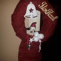 Ajtódísz, Dekoráció, Karácsonyi, adventi apróságok, Ünnepi dekoráció, Karácsonyi dekoráció, , Meska