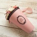 RomanticRosebox, Dekoráció, Esküvő, Otthon, lakberendezés, Esküvői dekoráció, Lepd meg szeretteidet ezzel a romantikus virágdobozzal, melybe szárazvirágokkal, gyöngyökkel és egye..., Meska