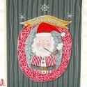 Sánta Klausz  vidám képeslap mikulásra, Naptár, képeslap, album, Karácsonyi, adventi apróságok, Képeslap, levélpapír, Ajándékkísérő, képeslap, Sánta Klausz mint mikulás...  Saját tervezésű, kézzel rajzolt mikulása szóló képeslap A/6-os méretbe..., Meska