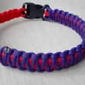 Cobra-king - cobra nyakörv, Állatfelszerelések, Kutyafelszerelés, Csomózás, Narancs - lila színű, cobra, king - cobra mintával készült paracord nyakörv. Szélessége: 2-3 cm Bel..., Meska