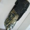 Sárga -kék mintás  csavart elejű szoknya, Ruha, divat, cipő, Női ruha, Szoknya, Varrás, Nagyon kellemes ,lágy  esésű  anyagból készítettem ezt a   rafinált elejű  szoknyát. Derékrésze elas..., Meska