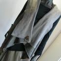 Bélelt  mellény, Ruha, divat, cipő, Női ruha, Felsőrész, póló, Varrás, Háromféle anyag  kombinációjával készítettem ezt a bélelt mellényt,mely praktikus viselet alapruhára..., Meska