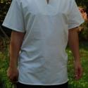 """""""Atilla"""" férfi ing eredeti házi vászonból, Ruha, divat, cipő, Férfiaknak, Férfi ruha, Varrás, Eredeti házi szövésű, 100%-ban természetes, varrás előtt mosott alapanyagból készült """"Betyár"""" termé..., Meska"""