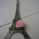 Eiffel tornyos nyaklánc, Ékszer, óra, Medál, Nyaklánc, , Meska