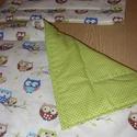 Karácsonyra is -Bébi 1 ágynemű szett választható design textilekből, Baba-mama-gyerek, Baba-mama kellék, Gyerekszoba, Falvédő, takaró, Varrás, Szeretettel nektek  100% pamut választható anyagból takaró és párna szett  Az egyedi megrendeléseke..., Meska