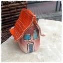 Mini kerámia házikó, Dekoráció, Képzőművészet , Otthon, lakberendezés, Dísz, , Meska