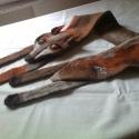 Ravaszság, Ruha, divat, cipő, Kendő, sál, sapka, kesztyű, Sál, Varrás, Nemezelés, Ez a rókát ábrázoló kézzel nemezelt sál ausztrál és dél amerikai 100% merinó gyapjúból készült.Több..., Meska