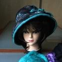 Nunonemez kalap, Ruha, divat, cipő, Kendő, sál, sapka, kesztyű, Nemezelés, Nunonemez kalap ausztrál extraminőségű gyapjú és selyemből. Elegáns és egyedi kalap,amelyből rendel..., Meska