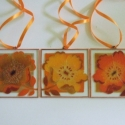 Narancssárga virág világ, Dekoráció, Otthon, lakberendezés, Dísz, Festett tárgyak, Megrendelésre! Szivesen elkészítem őket, megrendeléstől számítva 1 hét múlva Nálad lehet !! Narancs..., Meska