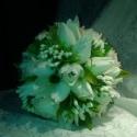 Márciusban csak 7500Ft Ártatlan tavasz-menyasszonyi csokor, Esküvő, Esküvői csokor, Virágkötés, Majd megszólalt a tulipán... A pici bimbók... A rózsa... Mindet csokorba kötöttem,lazán,üdítő tavas..., Meska