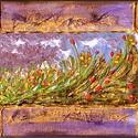 Csendélet absztraktul :) , Képzőművészet, Festmény, Akril, Festmény vegyes technika, Festészet, 30 x 20 -as feszített vászon, akril, festőkés. Címkék: festmény, akril, csendélet, absztrakt.  Vász..., Meska