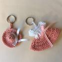 Pink baby kulcstartó szett, Mindenmás, Kulcstartó, , Meska