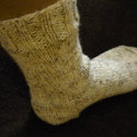 Kötött női zokni 37-38-as méretben, Ruha, divat, cipő, Női ruha, Kötés, Kézzel kötött,meleg női-lányka zokni,37-38-as méretben. Fonalösszetétel: 30% gyapjú 70% akril 30C°-..., Meska