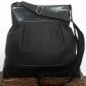 ÚJ KOLLEKCIÓ: City bag : A klasszikus fekete :), Táska, Ruha, divat, cipő, Varrás, Kedvenc városba járós,rohangálós táskáim többsége ilyen, ők adták az ihletet: pont elég nagy,és pra..., Meska