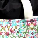 Óóóóóriási kedvezmény  a kifutó táskákra!! Nyári madárkás táska, Táska, Ruha, divat, cipő, Varrás, Akció!! Részletek boltunk oldalán.  Ő már elkelt, de tudok még hasonlót készíteni! :)   Gyönyörűség..., Meska