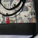 ÚJ KOLLEKCIÓ: City bag  XXL :  Shopping in Paris 3., Ruha, divat, cipő, Táska, Varrás, Kedvenc városba járós,rohangálós táskáim többsége ilyen, ők adták az ihletet: igazi jó nagy pakolós..., Meska