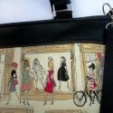 ÚJ KOLLEKCIÓ: City bag  XXL :  Shopping in Paris, Ruha, divat, cipő, Táska, Varrás, Kedvenc városba járós,rohangálós táskáim többsége ilyen, ők adták az ihletet: igazi jó nagy pakolós..., Meska