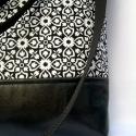 ÚJ KOLLEKCIÓ: City bag  XXL :  Gyönyörűséges fekete, Ruha, divat, cipő, Táska, Dekoráció, Varrás, Ő már elkelt, de tudok még ilyet készíteni! :)   Kedvenc városba járós,rohangálós táskáim többsége ..., Meska