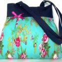 Óóóóóriási kedvezmény  a kifutó táskákra!! Virágok farmerral  2., Táska, Ruha, divat, cipő, Varrás,  ÓRIÁSI KEDVEZMÉNY!!!!!!!!!! RÉSZLETEK BOLTUNK OLDALÁN! NE HAGYD KI :))  Gyönyörűséges kék virágos ..., Meska