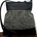 City bag : Különleges fekete , Táska, Ruha, divat, cipő, Varrás, Ő már elkelt, de tudok még hasonlót készíteni! :)   Kedvenc városba járós,rohangálós táskáim többsé..., Meska