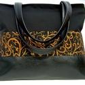 City bag :Aranyló elegancia, Táska, Ruha, divat, cipő, Varrás, Kedvenc városba járós,rohangálós táskáim többsége ilyen, ők adták az ihletet: igazi jó nagy pakolós..., Meska