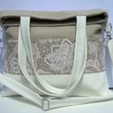 City Bag XL Plus : Az Elegáns, Táska, Ruha, divat, cipő, Varrás, Ez a táska a nagy sikerű XL fazon újabb változata, igazi 2in1 táska: egyrészt 2 féle méretűre lehet..., Meska