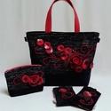 Exclusive táska szett (5 darabos) EX07, Táska, Válltáska, oldaltáska, Varrás, Nemezelés, A Monimi Exclusive táskákból csak egyetlen darab készül. Teljesen egyedi és ezáltal te is az lehets..., Meska