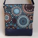 Lovely-bag 03 női táska, Táska, Válltáska, oldaltáska, Varrás, Gyönyörű színekben pompázik ez a táska! A kék egyre népszerűbb, mert nagyon harmonikus, sokféle ruh..., Meska