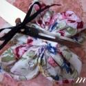 Blossom - tavaszt idéző hajcsat, Ruha, divat, cipő, Hajbavaló, Hajcsat, Varrás, Blossom kollekcióm - minden,ami virág  Tavaszi hangulatot idéz ez a szép virágos hajcsat.  Közepére..., Meska
