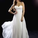 légies esküvői ruha, Esküvő, Menyasszonyi ruha, Varrás, Könnyed, léges, romantikus esküvői ruha, csipke felsőrésszel vagy anélkül. Mérete: 34-40 Színe: tör..., Meska