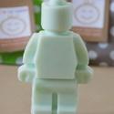 LEGO szappan zöld almás, Szépségápolás, Dekoráció, Baba-mama-gyerek, Szappan, tisztálkodószer, Szappankészítés, Ezzel a különleges halványzöld, zöld alma illatú szappannal hatalmas örömet szerezhetsz, hiszen min..., Meska