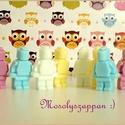 LEGO hadsereg - 8 darab, Szépségápolás, Baba-mama-gyerek, Szappan, tisztálkodószer, Növényi alapanyagú szappan, Szappankészítés, LEGO hadsereg a szomorúság és bánat ellen! A kis figurák láttán garantált a mosoly. :)   Illatokról..., Meska