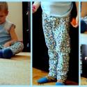 Pingvinek - pizsama nadrág, Ruha, divat, cipő, Gyerekruha, Varrás, Michael Miller amerikai tervező flanel anyagából varrtam ezt az igazán őszi-téli pizsama nadrágot. ..., Meska
