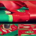 Karácsonyi gömbök - terítő, Dekoráció, Karácsonyi, adventi apróságok, Karácsonyi dekoráció, Patchwork, foltvarrás, Virágkötés, AKCIÓS  40 %-kal olcsóbban vásárolhatod meg a képen látható terméket!  Az ár már  a kedvezményes   ..., Meska