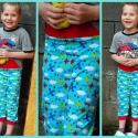 Pizsama nadrág, térd alá érő, Baba-mama-gyerek, Ruha, divat, cipő, Gyerekruha, Kisgyerek (1-4 év), Varrás, 116-os méret  Térd alá érő pizsama nadrág!  Minőségi amerikai pamutból, és pamut passzéval!  Kérhet..., Meska