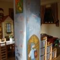 Váras falfestés gyerekszobába, Baba-mama-gyerek, Dekoráció, Gyerekszoba, Falmatrica, Festészet, Mindenmás, Ezt a falfestést egy óvodába készítettem. Azt terveztem, hogy  ebben a teremben minden olyan legyen..., Meska