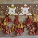 Adventi naptár zsákokkal (macik a hóesésben), Dekoráció, Karácsonyi, adventi apróságok, Adventi naptár, Karácsonyi dekoráció, Famegmunkálás, Festett tárgyak, Amikor ezt az adventi naptárt terveztem, az egyik fő szempont az volt, hogy akár két kisgyerek apró..., Meska