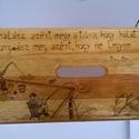 Horgászos sámli, Bútor, Férfiaknak, Szék, fotel, Horgászat, vadászat, Horgászos sámli egy egyedi rendelésre készült fa sámli.Pirográf technikával dekorált, lakka..., Meska