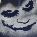 Batman, Joker mintás sablon, stencil, Dekoráció, Otthon, lakberendezés, Falmatrica, Mindenmás, Átlátszó fóliából(spirálozó előlap) készítettem a stencil sablont! Mérete: fej 20x15 cm, izmos batm..., Meska