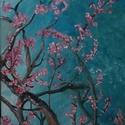 Tavasz - festmény, Dekoráció, Otthon, lakberendezés, Falikép, Kép, , Meska