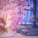 Fény és árnyék - akril festmény, Képzőművészet , Otthon, lakberendezés, Festmény, Akril, , Meska