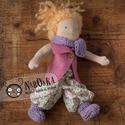 Klasszikus waldorf baba - öltöztethető baba - textil baba, Játék, Baba, babaház, , Meska