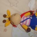 Horgolt zsiráf (Ralph), Játék, Baba játék, Horgolás, Akril és pamutfonalból készült horgolt zsiráf. Mérete 32 cm. Ralph névre hallgat))), Meska